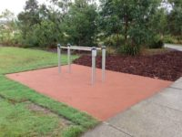 RCC Mt Cotton Community Park - Parallel Bars.JPG